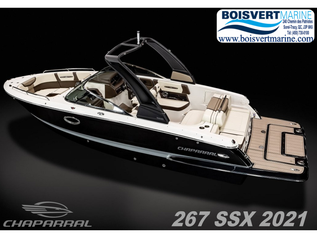2021 Chaparral boat for sale, model of the boat is 267 Ssx & Image # 1 of 14