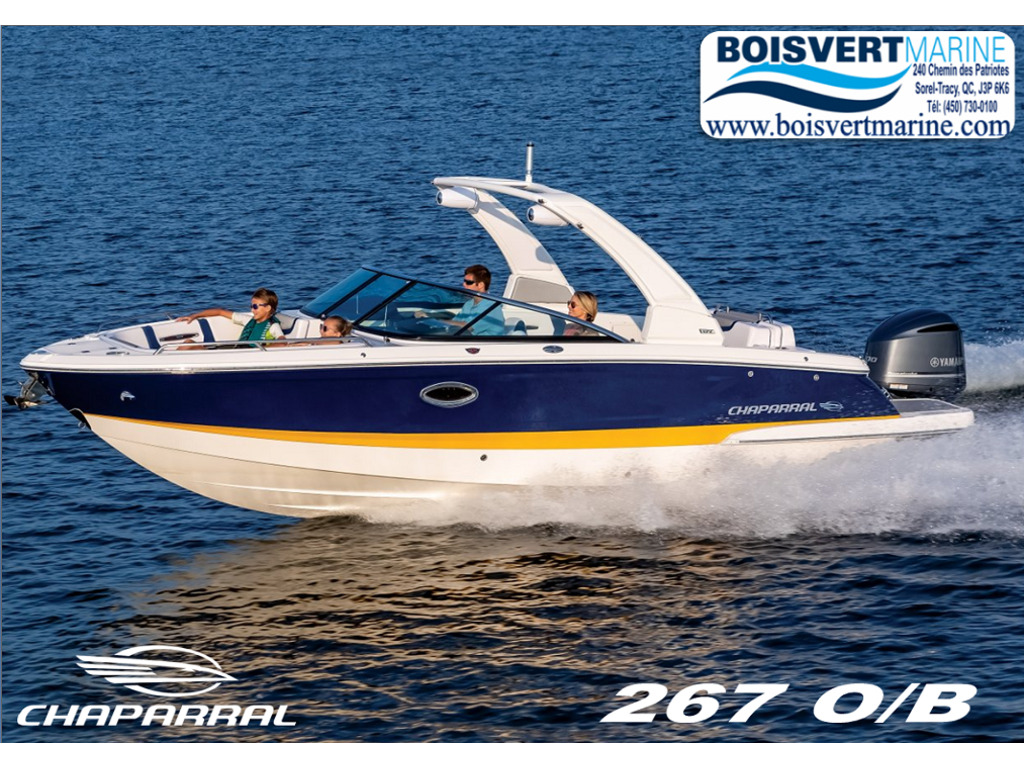2021 Chaparral boat for sale, model of the boat is 267 O/b & Image # 1 of 15