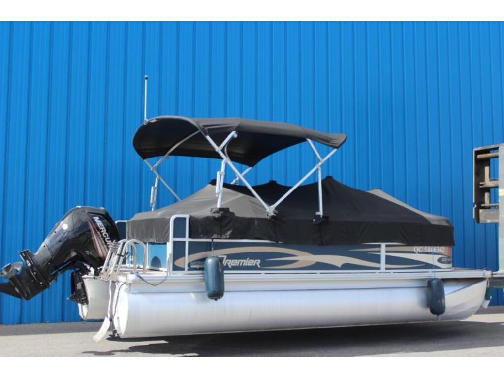 2017 Premier Pontoons boat for sale, model of the boat is 200 Sunspree 90 Elpt Mercury & Image # 2 of 6