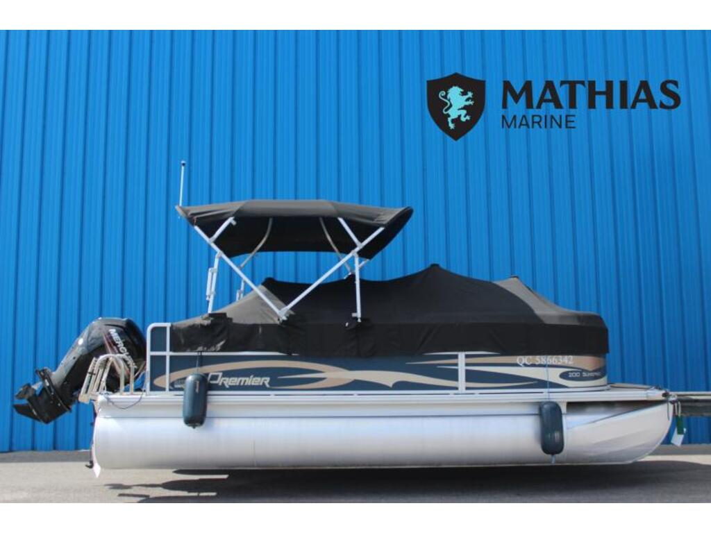 2017 Premier Pontoons boat for sale, model of the boat is 200 Sunspree 90 Elpt Mercury & Image # 1 of 6