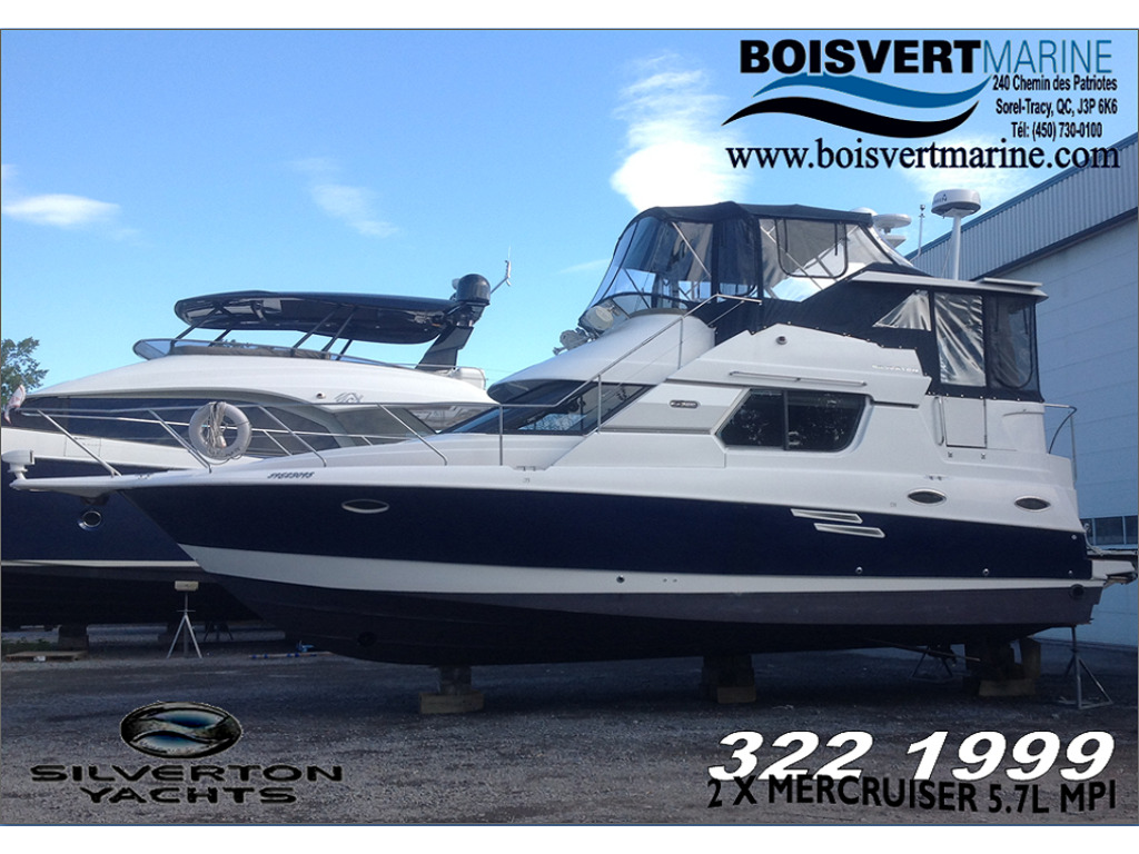 1999 Silverton boat for sale, model of the boat is 322 & Image # 1 of 18
