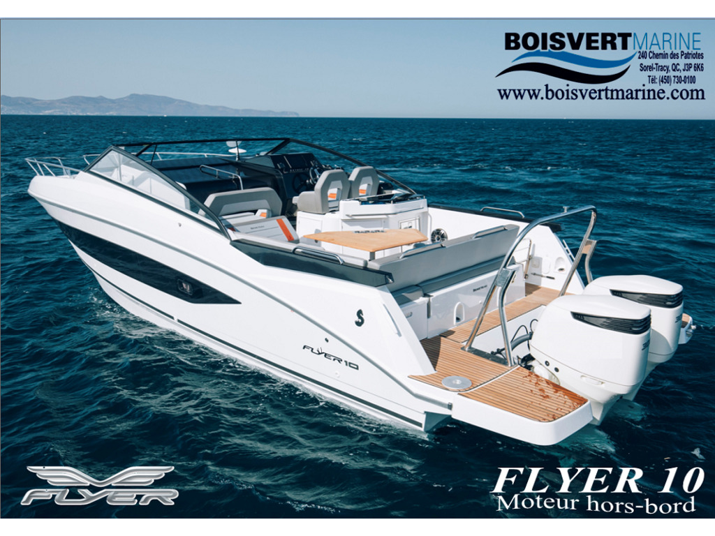 2021 Beneteau boat for sale, model of the boat is Flyer 10 (32) & Image # 1 of 12