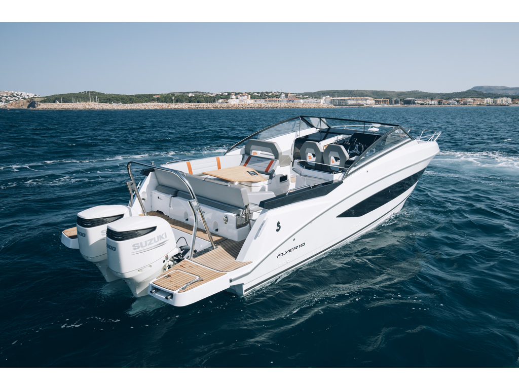 2021 Beneteau boat for sale, model of the boat is Flyer 10 (32) & Image # 6 of 12