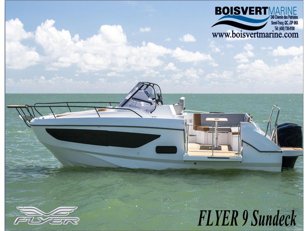 2021 Beneteau boat for sale, model of the boat is Flyer 9 Sundeck & Image # 1 of 19