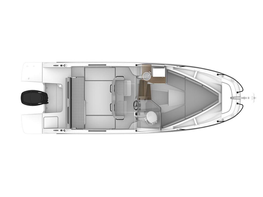 2021 Beneteau boat for sale, model of the boat is Flyer 9 Sundeck & Image # 16 of 19