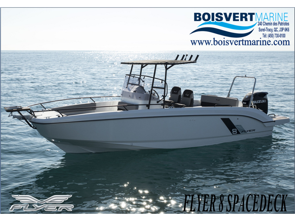 2021 Beneteau boat for sale, model of the boat is Flyer 8 Spacedeck & Image # 1 of 15