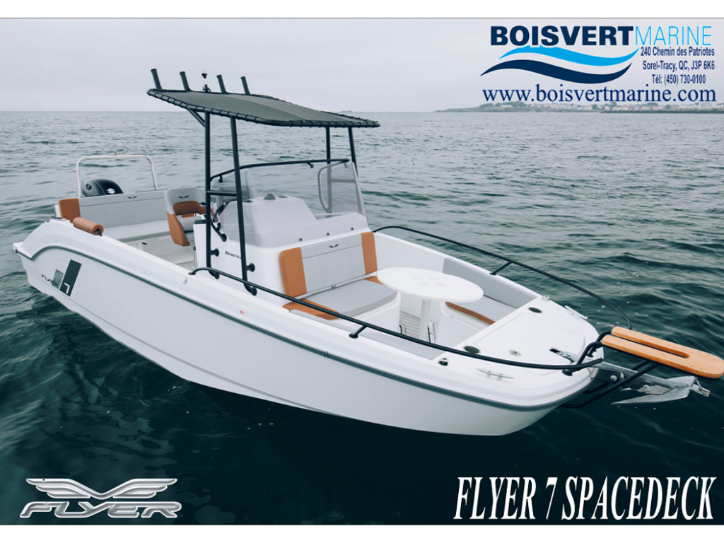 2021 Beneteau boat for sale, model of the boat is Flyer 7 Spacedeck & Image # 1 of 7