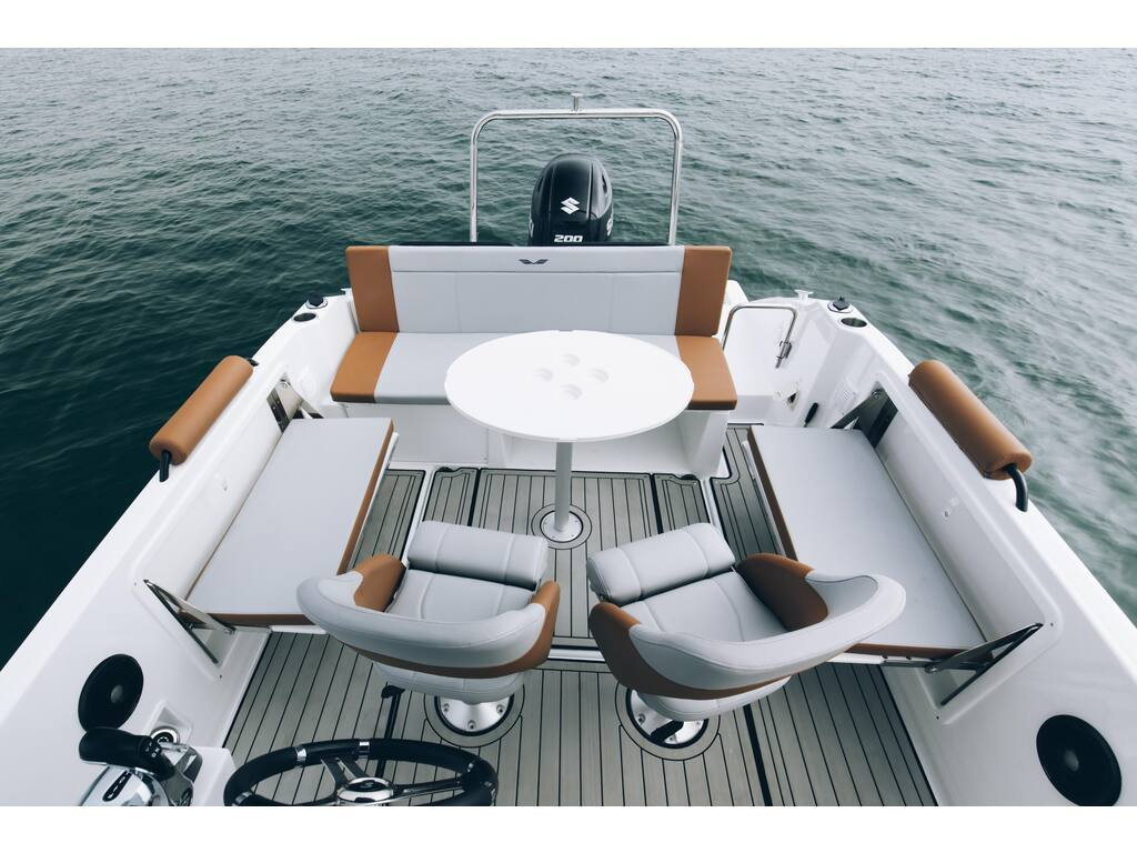 2021 Beneteau boat for sale, model of the boat is Flyer 7 Spacedeck & Image # 5 of 7