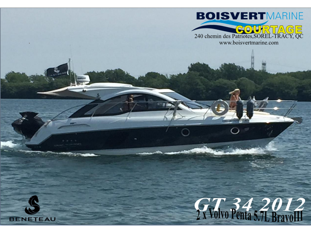 2012 Beneteau boat for sale, model of the boat is Gt 34 & Image # 17 of 17
