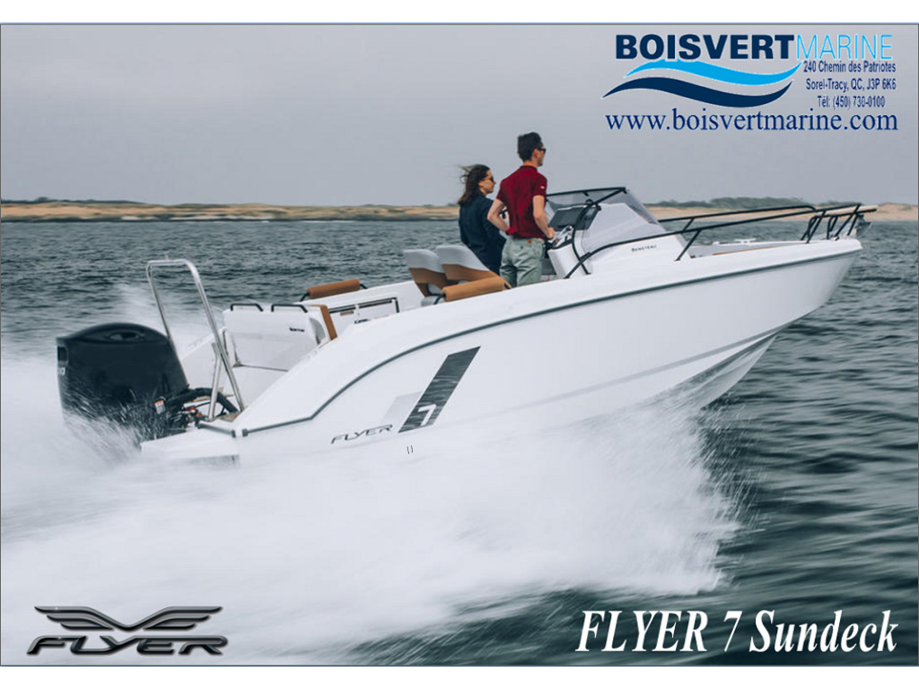 2021 Beneteau boat for sale, model of the boat is Flyer 7 Sundeck & Image # 1 of 11