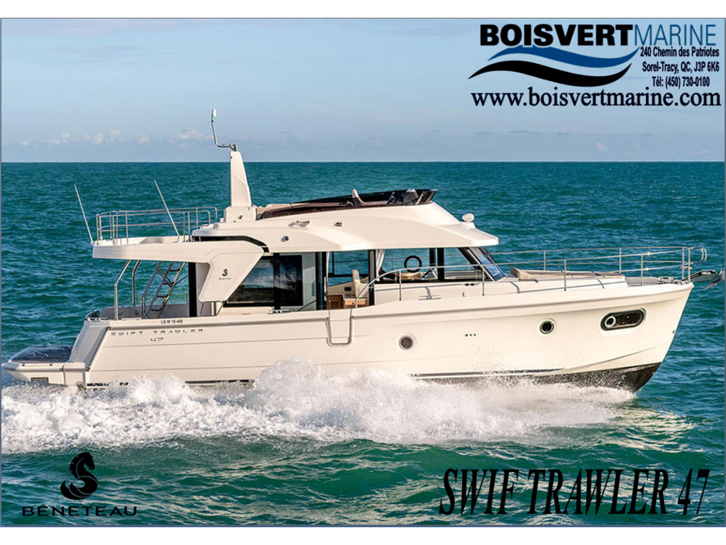 2021 Beneteau boat for sale, model of the boat is Swift Trawler 47 & Image # 1 of 5