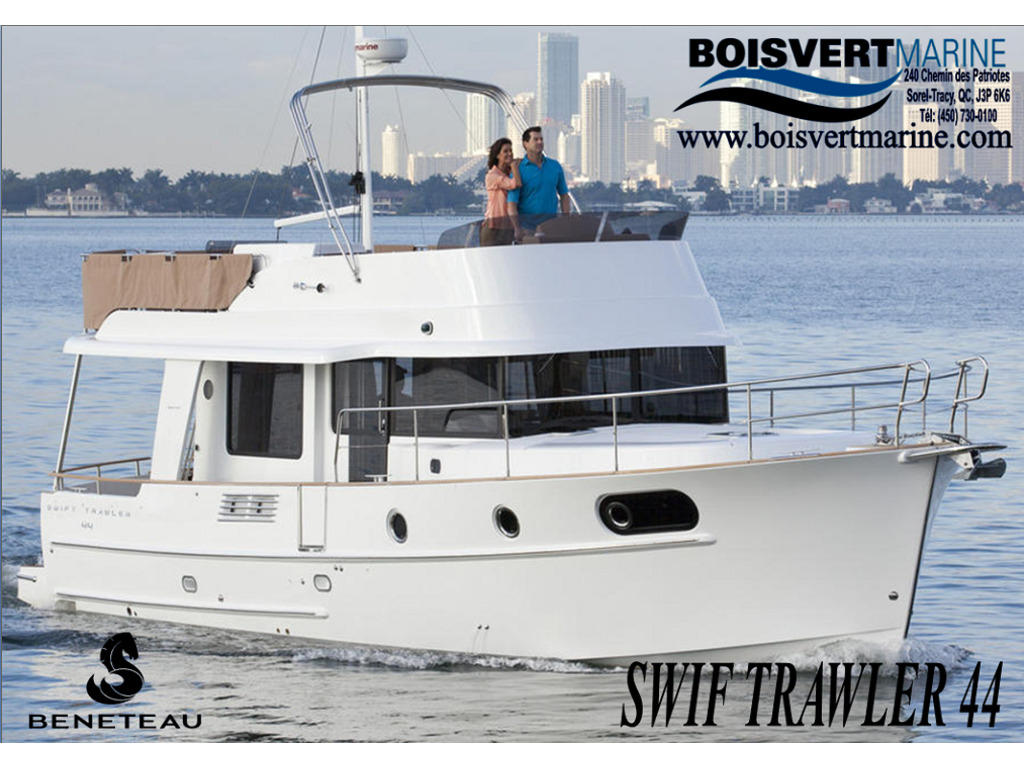 2021 Beneteau boat for sale, model of the boat is Swift Trawler 44 & Image # 1 of 14