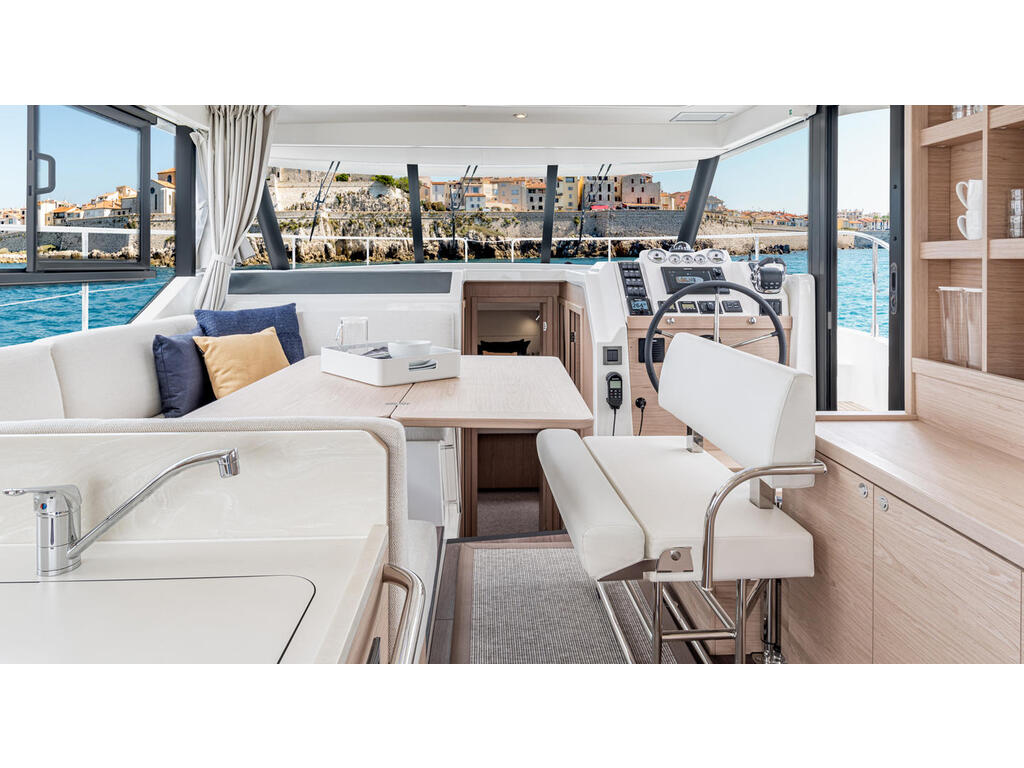 2021 Beneteau boat for sale, model of the boat is Swift Trawler 41 Fly & Image # 2 of 19