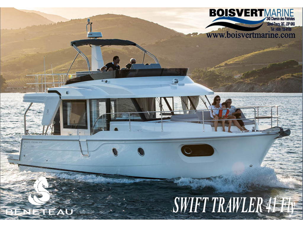 2021 Beneteau boat for sale, model of the boat is Swift Trawler 41 Fly & Image # 1 of 19