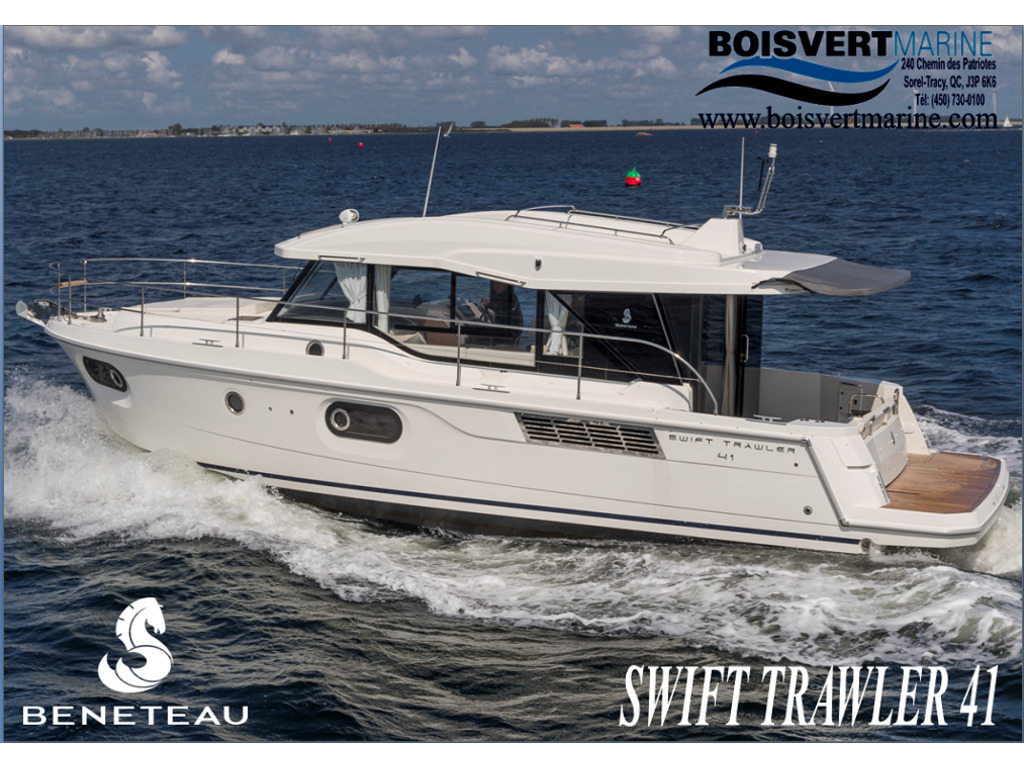 2021 Beneteau boat for sale, model of the boat is Swift Trawler 41 & Image # 1 of 20