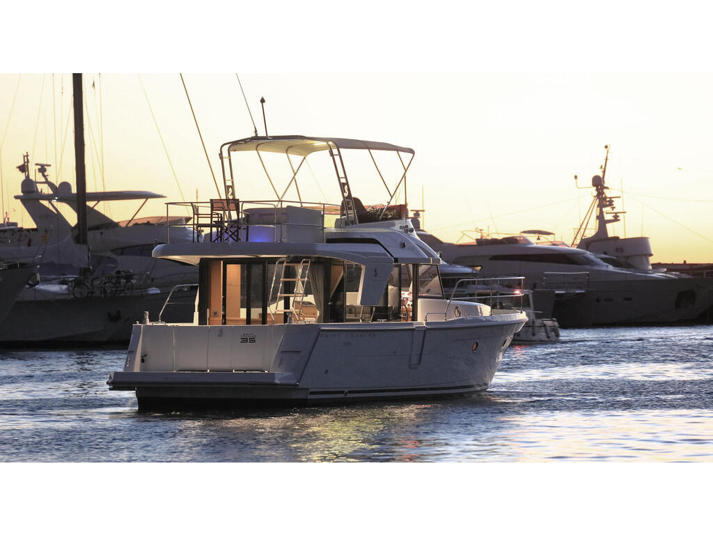 2021 Beneteau boat for sale, model of the boat is Swift Trawler 35 & Image # 3 of 10