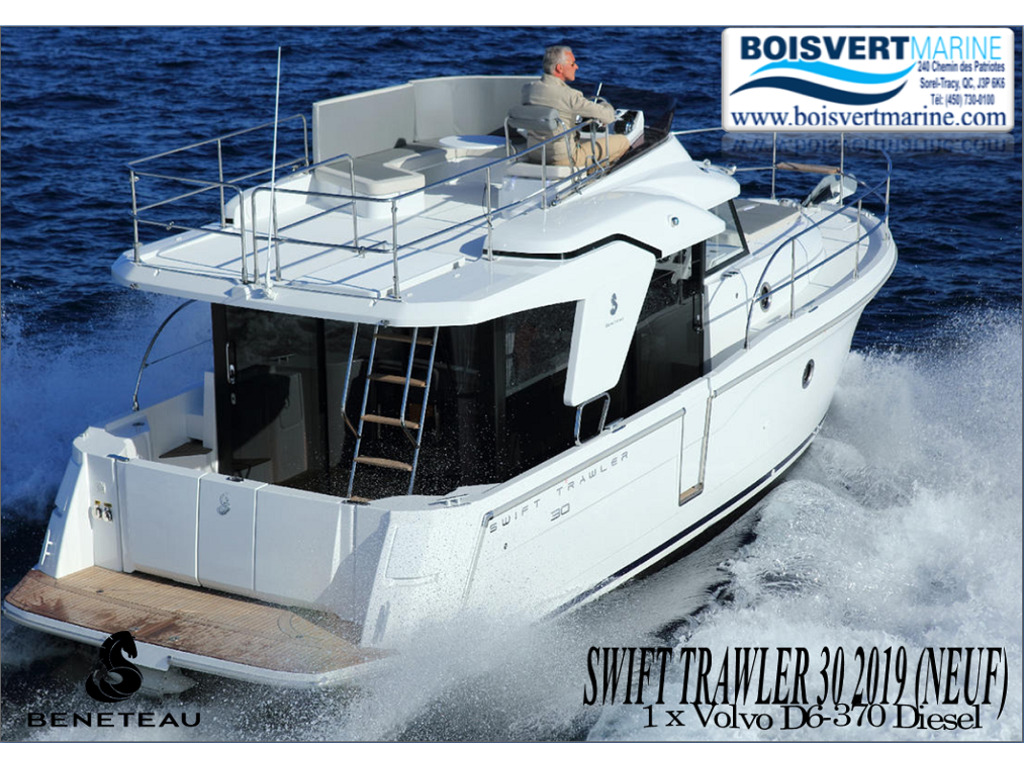 2019 Beneteau boat for sale, model of the boat is Swift Trawler 30 & Image # 1 of 32