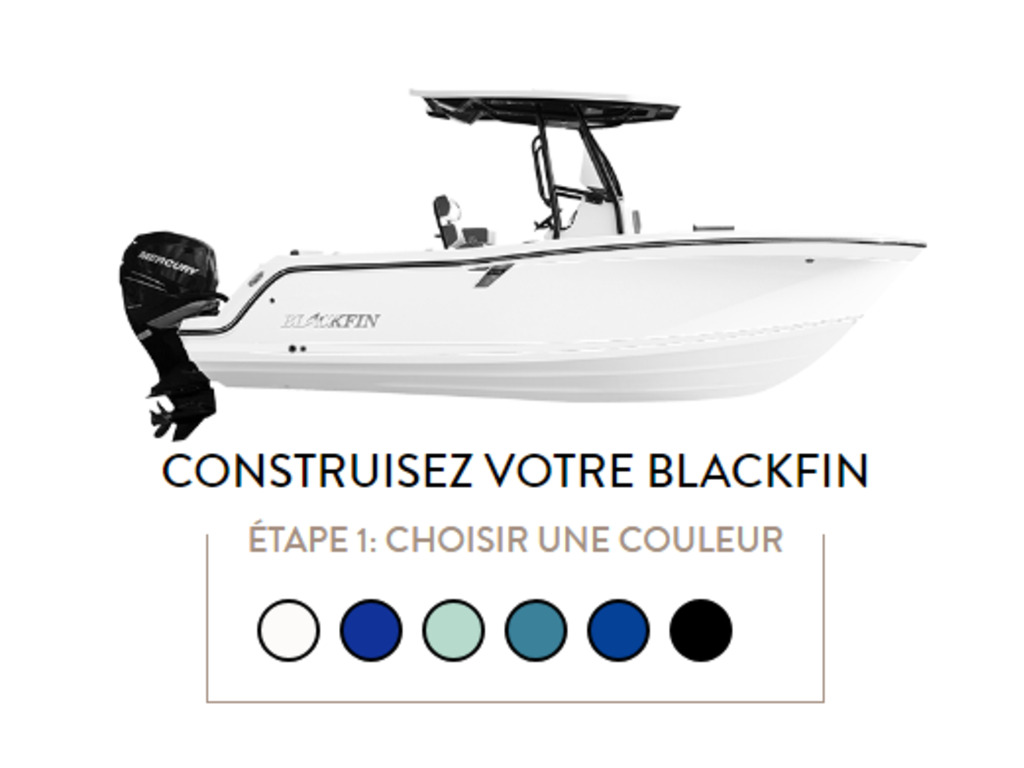 2021 Blackfin boat for sale, model of the boat is 222cc & Image # 2 of 8
