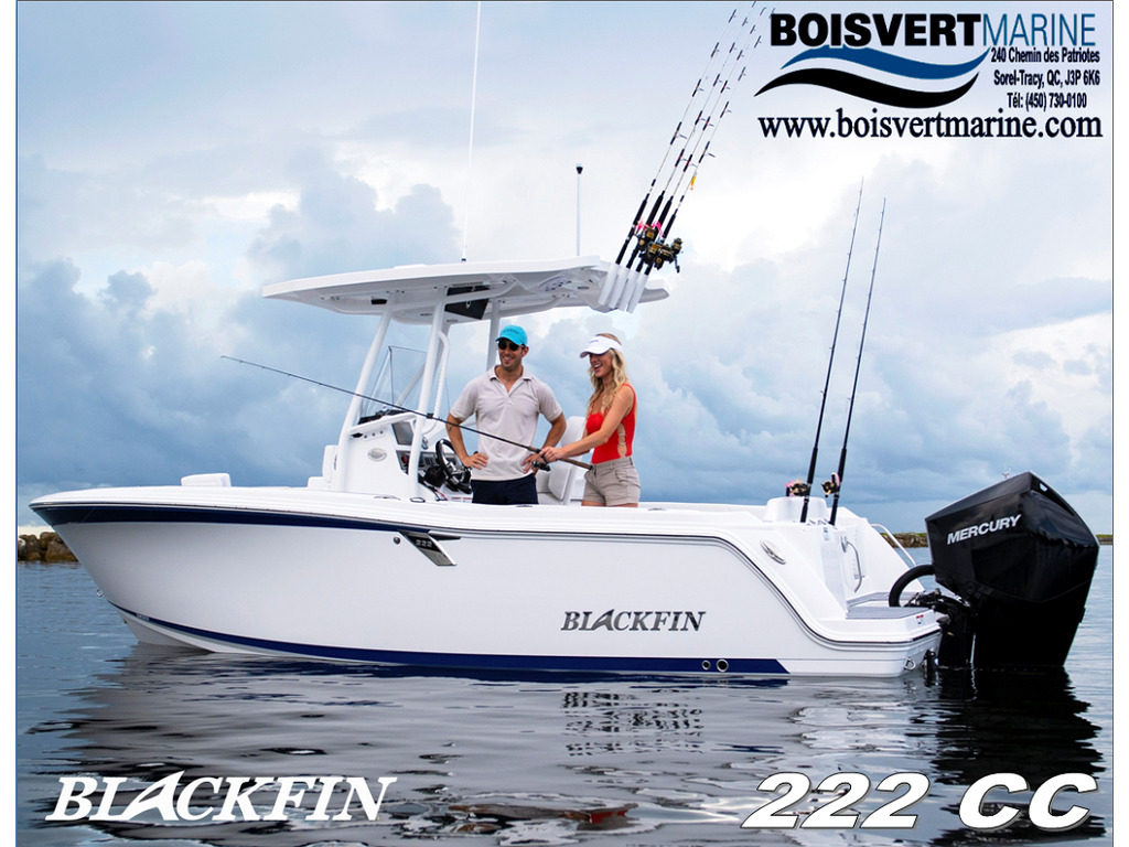 2021 Blackfin boat for sale, model of the boat is 222cc & Image # 1 of 8