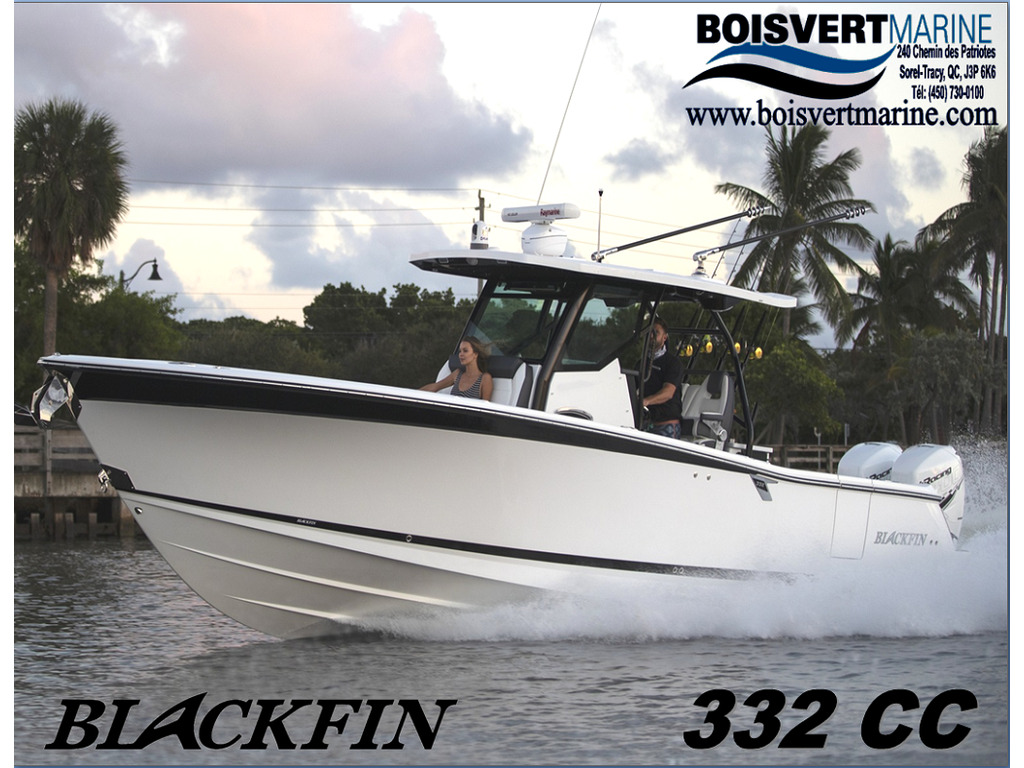 2021 Blackfin Marine International boat for sale, model of the boat is 332cc & Image # 1 of 14