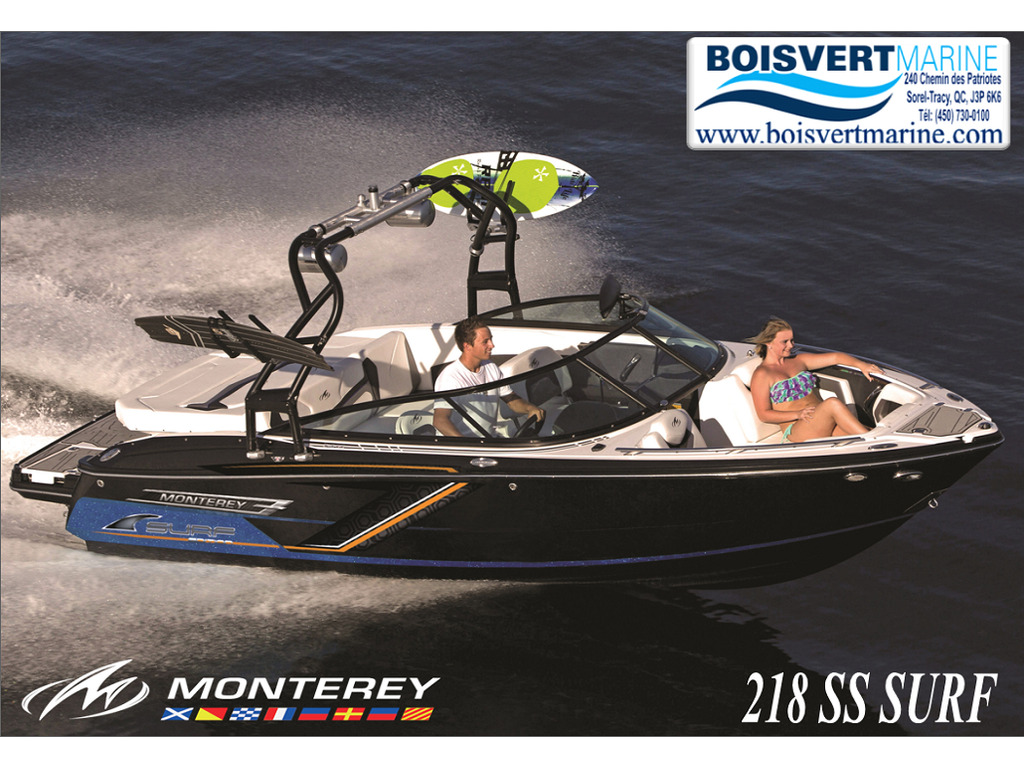 2021 Monterey boat for sale, model of the boat is 218 Ss-surf Edition & Image # 1 of 4