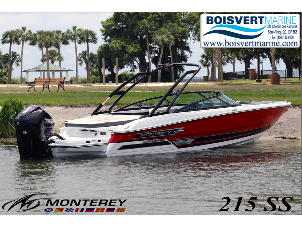 2021 Monterey boat for sale, model of the boat is 215 Ss & Image # 1 of 7