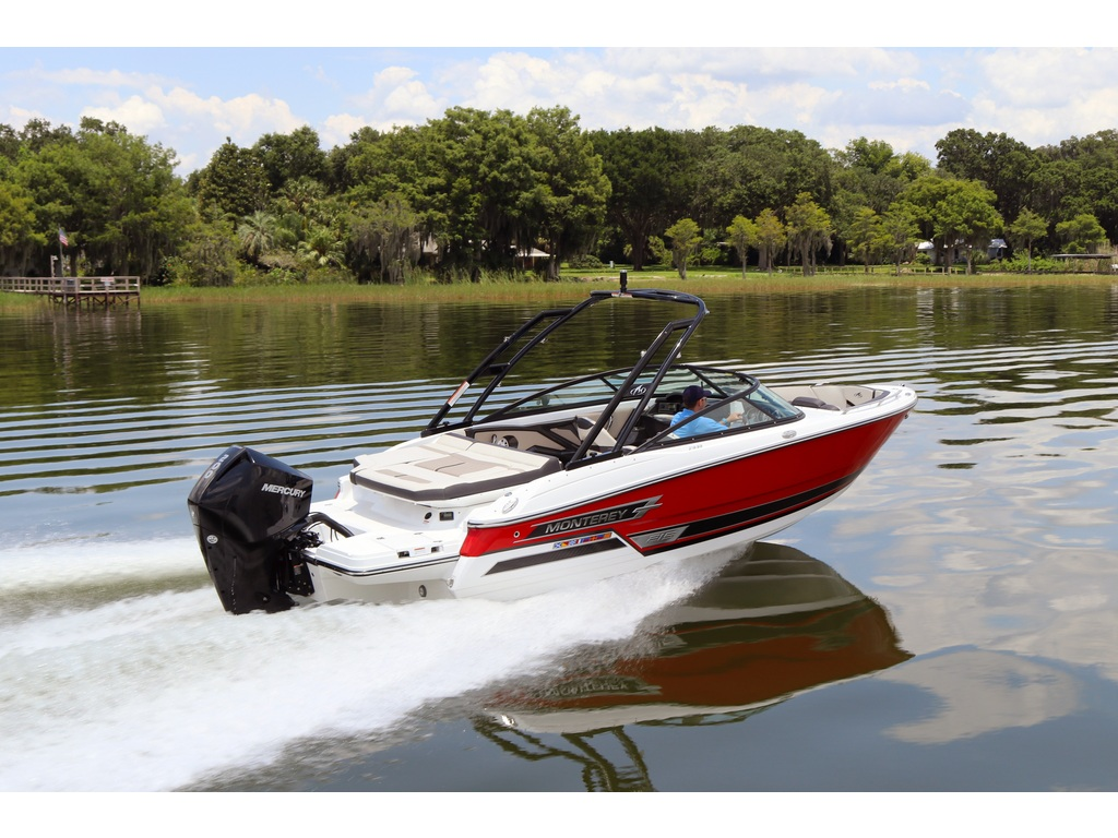 2021 Monterey boat for sale, model of the boat is 215 Ss & Image # 7 of 7
