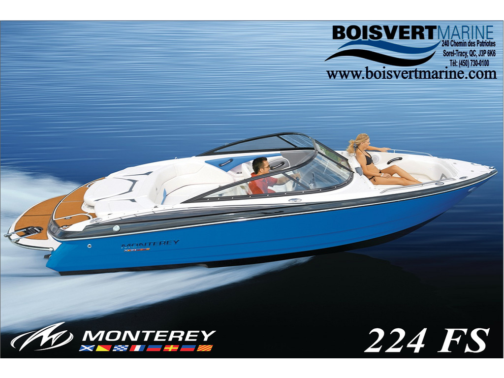 2021 Monterey boat for sale, model of the boat is 224 Fs & Image # 1 of 6