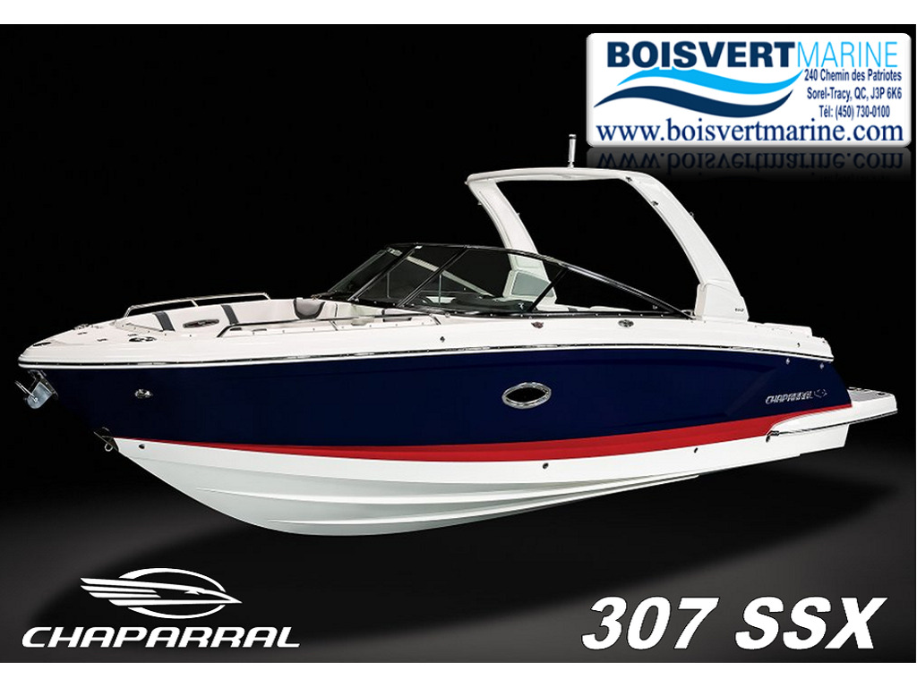 2021 Chaparral boat for sale, model of the boat is 307 Ssx & Image # 1 of 14
