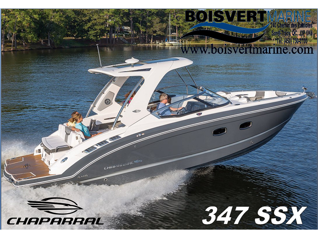 2021 Chaparral boat for sale, model of the boat is 347 Ssx & Image # 1 of 18