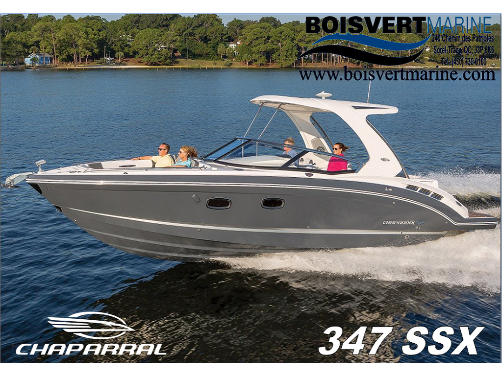 2021 Chaparral boat for sale, model of the boat is 347 Ssx & Image # 18 of 18