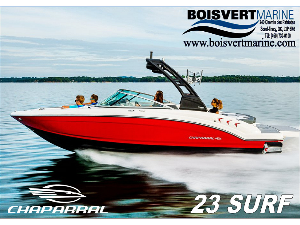 2021 Chaparral boat for sale, model of the boat is 23 Surf  & Image # 1 of 15
