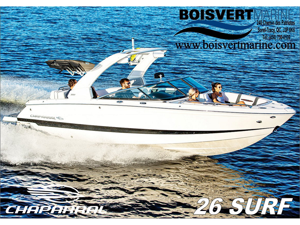 2021 Chaparral boat for sale, model of the boat is 26 Surf & Image # 1 of 8