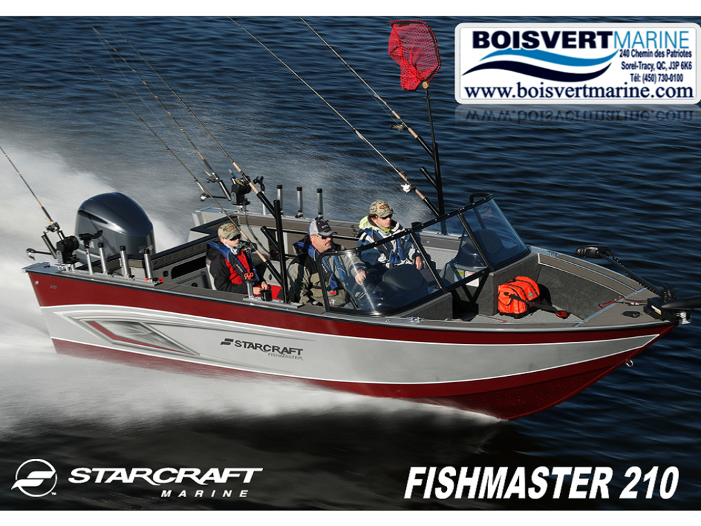 2021 Starcraft boat for sale, model of the boat is Fishmaster 210 & Image # 1 of 9