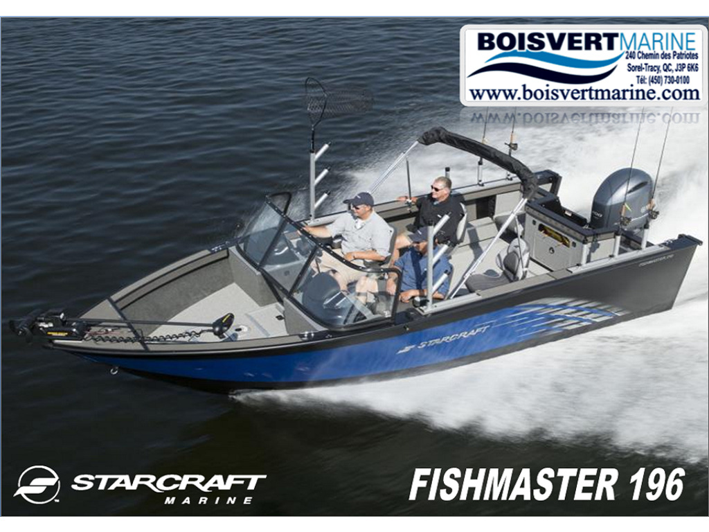 2021 Starcraft boat for sale, model of the boat is Fishmaster 196 & Image # 1 of 9