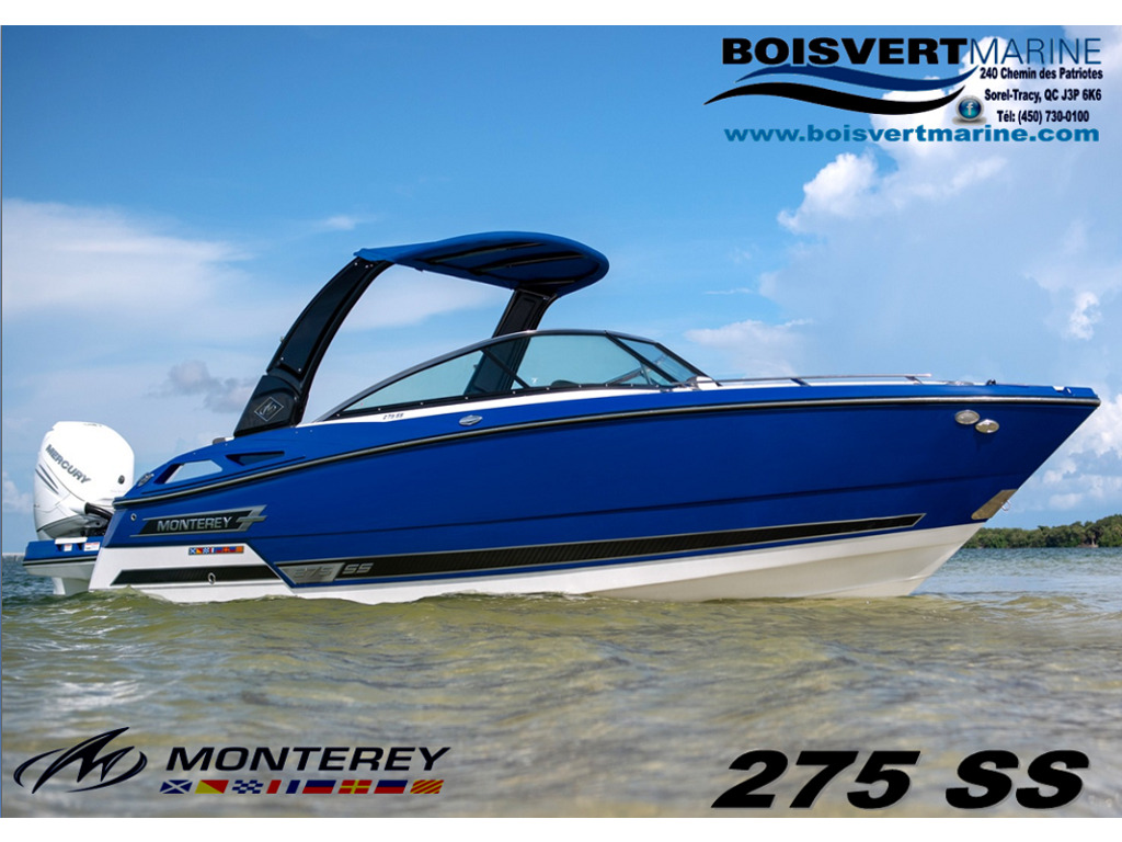 2021 Monterey boat for sale, model of the boat is 275 Ss & Image # 1 of 6