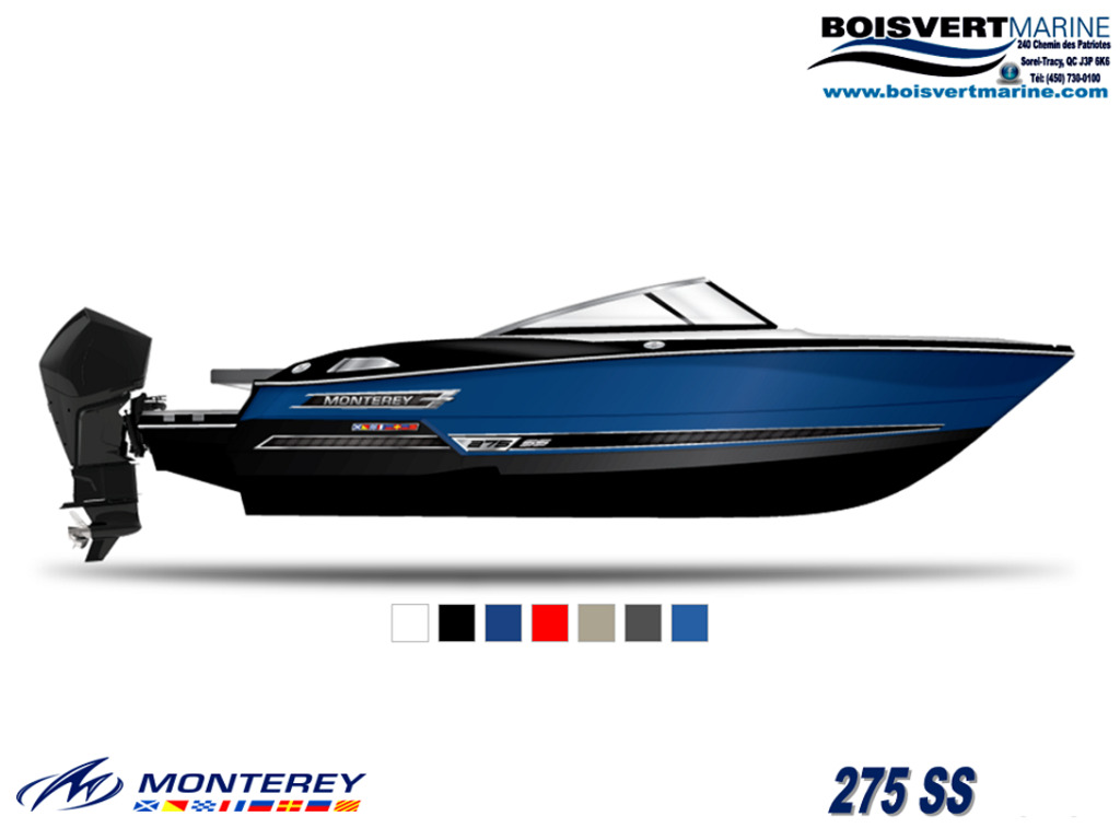 2021 Monterey boat for sale, model of the boat is 275 Ss & Image # 2 of 6