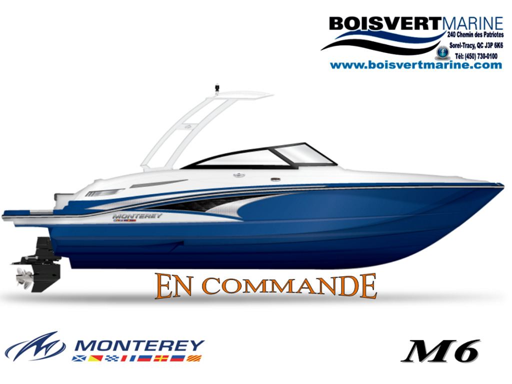 2021 Monterey boat for sale, model of the boat is M6 (en Commande) & Image # 1 of 1
