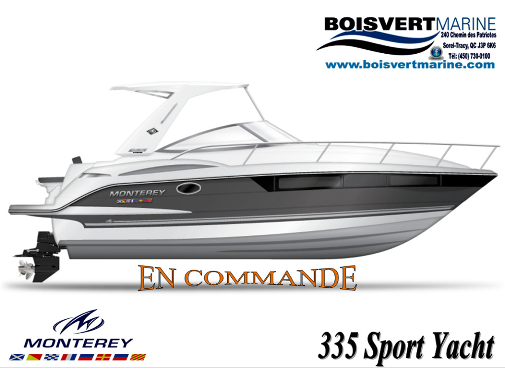 2021 Monterey boat for sale, model of the boat is 335 Sport Yacht & Image # 1 of 1