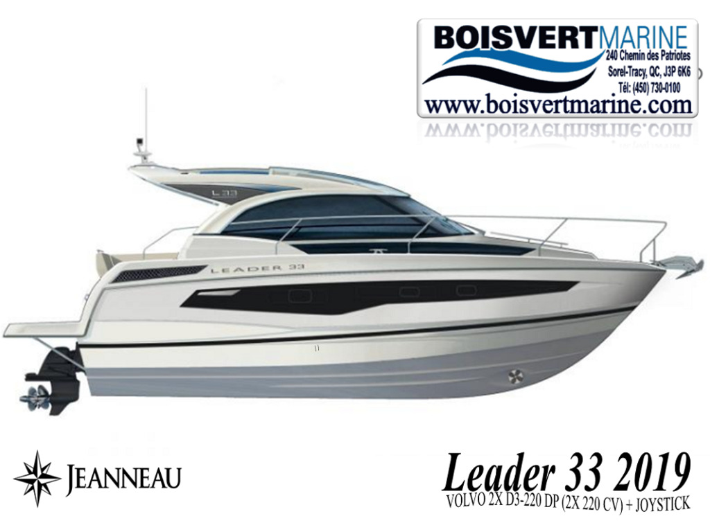 2019 Jeanneau boat for sale, model of the boat is Leader 33 2019  & Image # 2 of 20