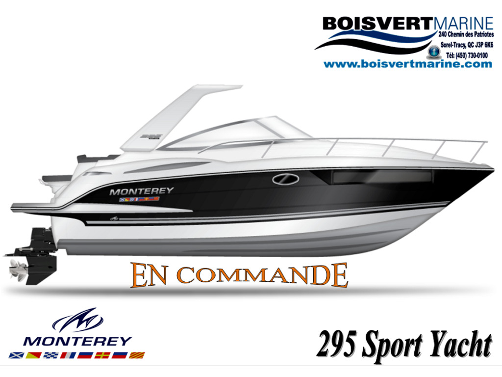 2021 Monterey boat for sale, model of the boat is 295 Sy (artic Ice/onyx) & Image # 1 of 1