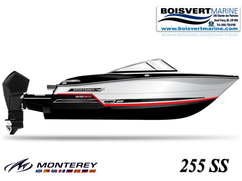 2021 Monterey boat for sale, model of the boat is 255 Ss & Image # 1 of 5