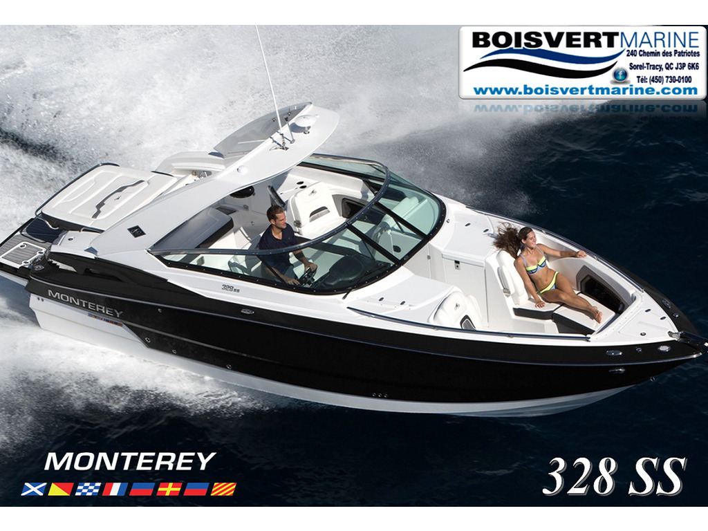 2021 Monterey boat for sale, model of the boat is 328ss & Image # 1 of 5