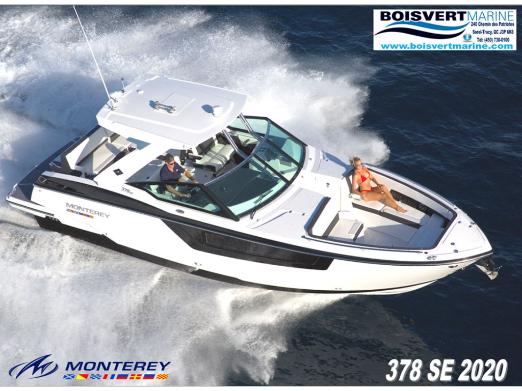2021 Monterey boat for sale, model of the boat is 378se & Image # 7 of 7
