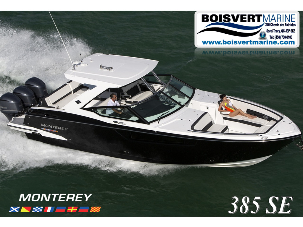 2021 Monterey boat for sale, model of the boat is 385 Se & Image # 1 of 8