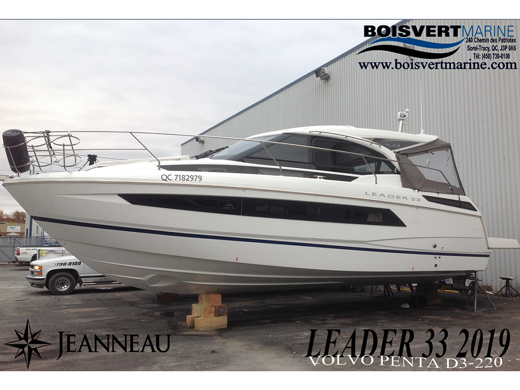 2019 Jeanneau boat for sale, model of the boat is Leader 33 2019  & Image # 1 of 20