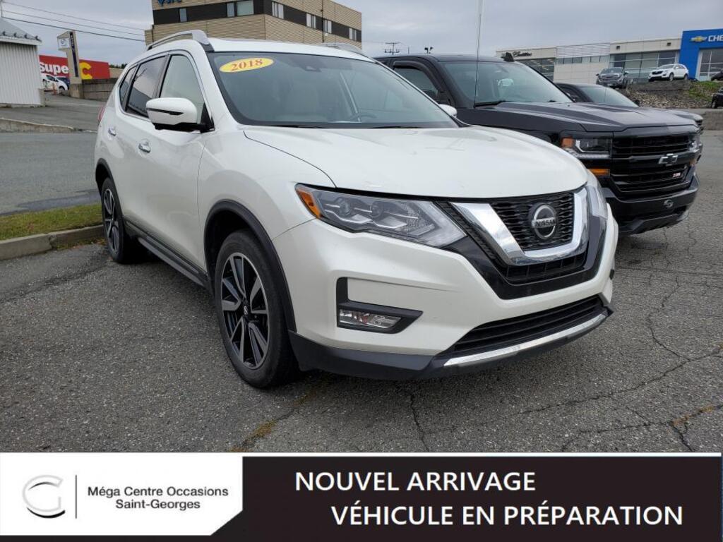 2018 Nissan  Rogue SL AWD CUIR TOIT NAVIGATION FULL