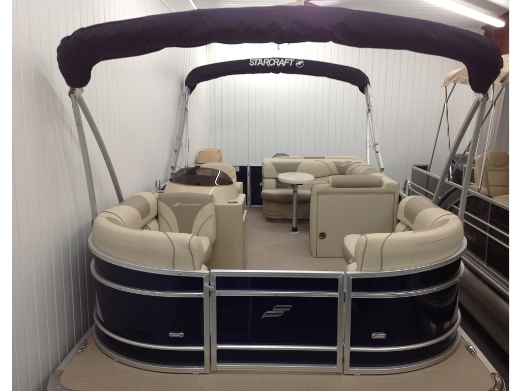 2018 Starcraft boat for sale, model of the boat is Ponton Ex 20c & Image # 9 of 18