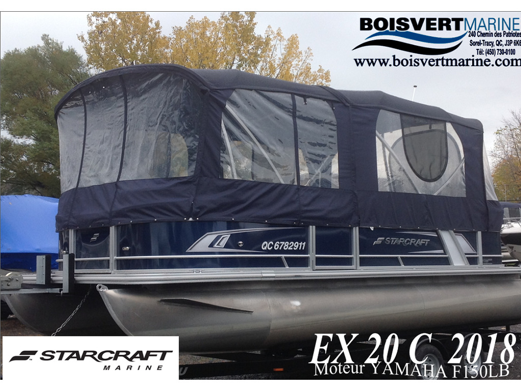 2018 Starcraft boat for sale, model of the boat is Ponton Ex 20c & Image # 18 of 18