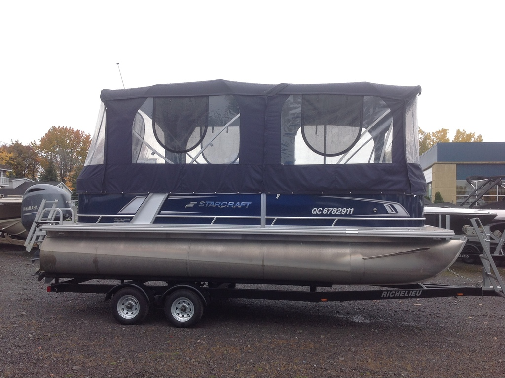 2018 Starcraft boat for sale, model of the boat is Ponton Ex 20c & Image # 2 of 18